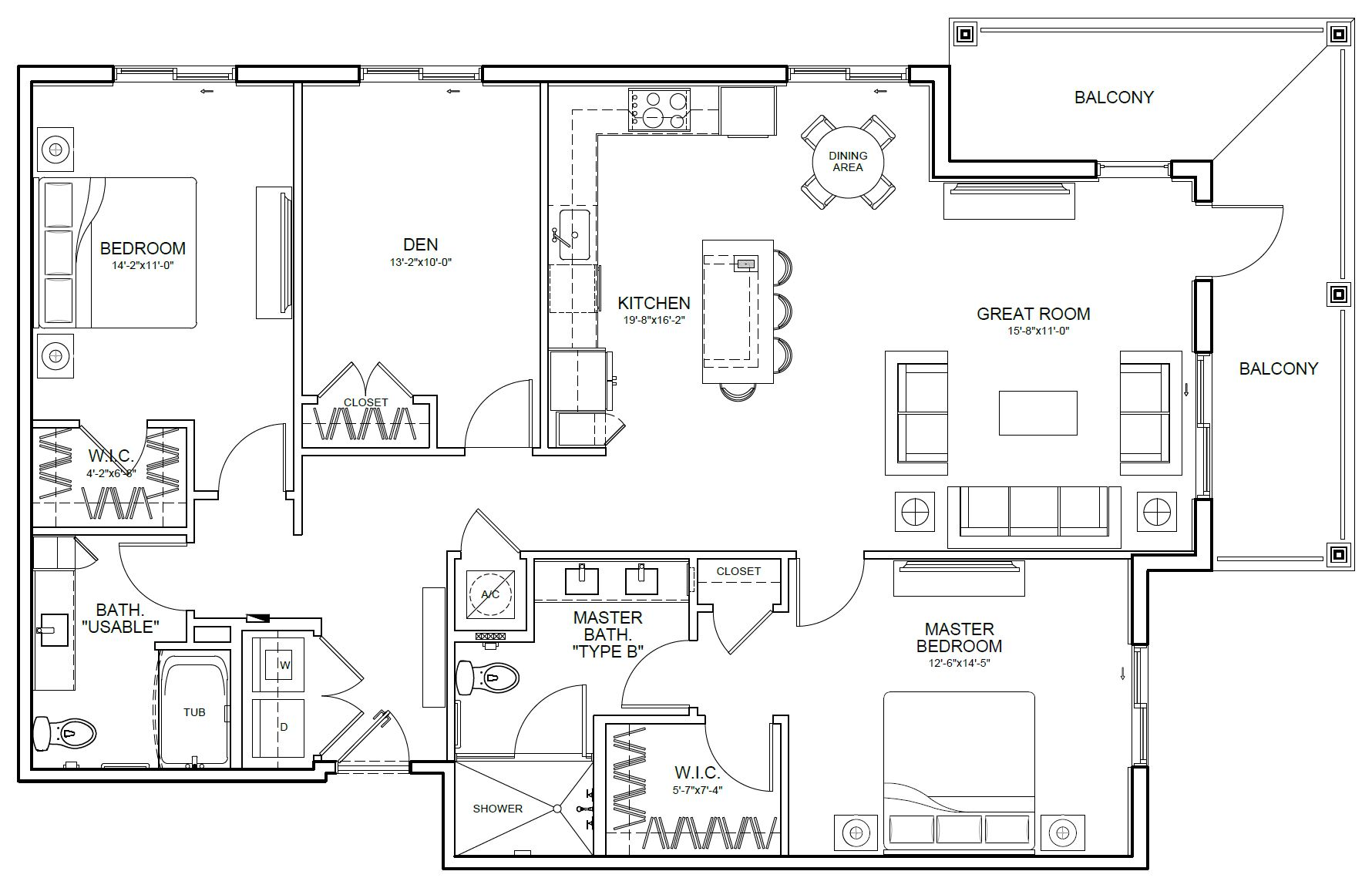 Bridgehampton Floor Plan