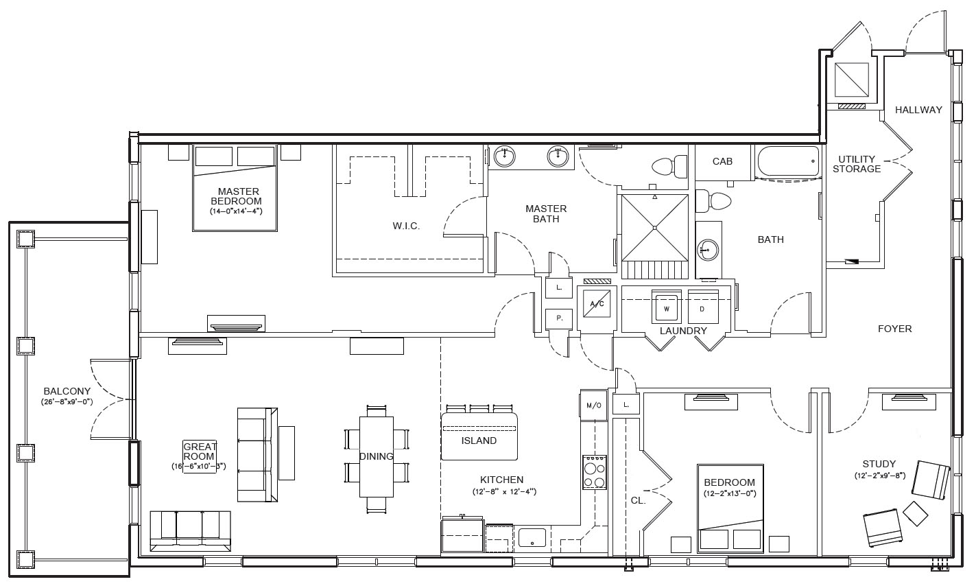 Louisville Mod Floor Plan